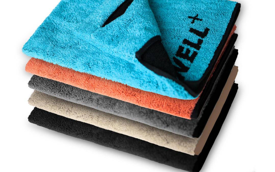 Das Fitnesshandtuch TOWELL ist ab sofort erhältlich!