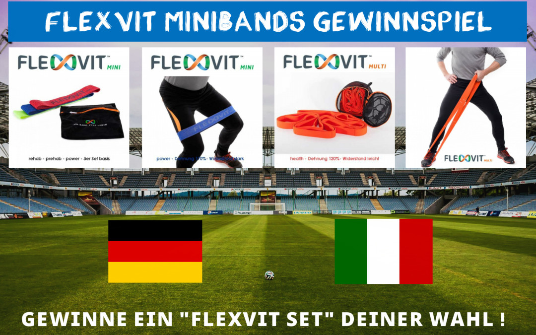 Flexvit Minibands – EM Gewinnspiel